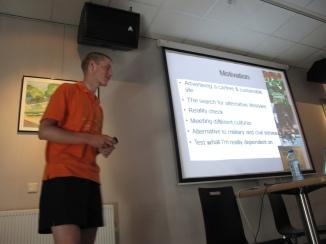 daniël N Lang at Cycle Vision 2009