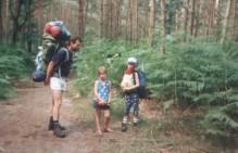 hiking on Pieterpad