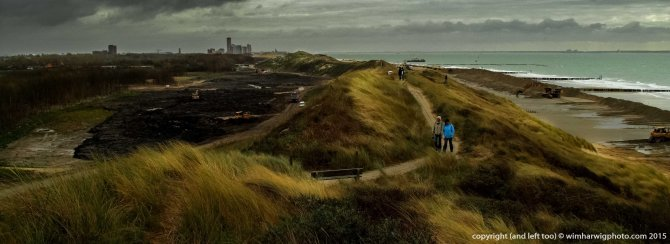 making artificial dunes