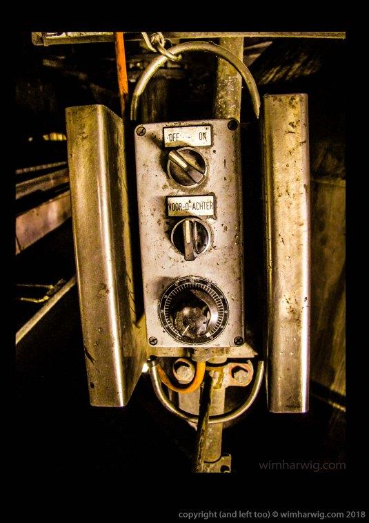 bediening ijzerboor op 6 meter-vloer
