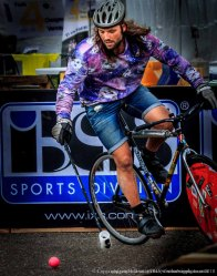 Photo made at Cycle Vision in Venray where a few bike polo teams had a competition