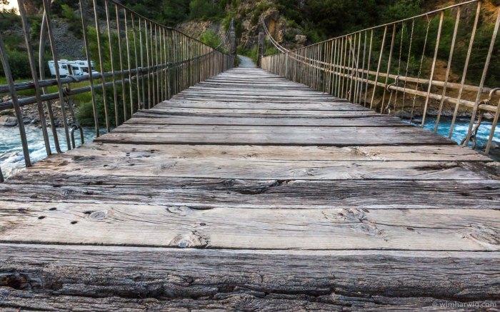the old bridge at Janovas,Spain.