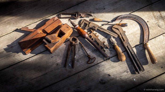 """old school"" tools"